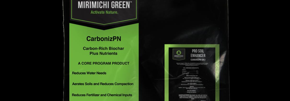 Carbonizpn Soil Enhancer Mirimichi Green