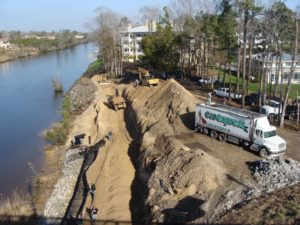 Slope erosion control with EcoExpress