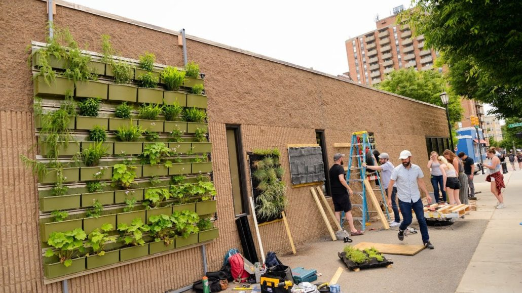 Living walls offer sustainability